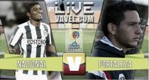 Resutlado final: Atlético Nacional - Fortaleza en la Liga Águila 2016 (4-1)