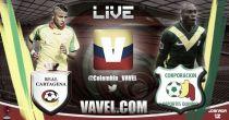 Real Cartagena vs Quindío en vivo y en directo online en el Torneo Águila 2015