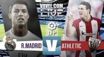 En vivo: Real Madrid 0-0 Athletic de Bilbao 2016 online en la Liga