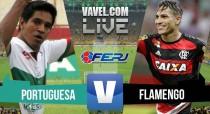 Resultado Portuguesa-RJ x Flamengo no Campeonato Carioca 2016 (0-5)