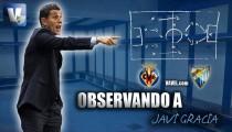 Observando a Javi Gracia contra el Villarreal