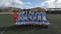 Las chicas del Atlético Málaga Femenino hacia lo más alto