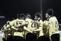 El Dortmund se impone al césped en Damstadt