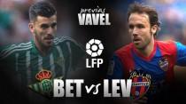 Real Betis - UD Levante: necesidad de victoria