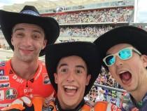 Austin, le parole di Marquez, Lorenzo e Iannone dopo il podio