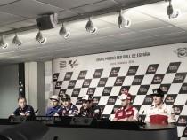 Rueda de prensa del Gran Premio de España de MotoGP 2016