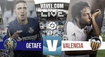 Un gran Getafe no consigue mantener el resultado ante un débil Valencia