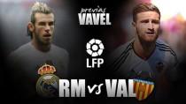 Real Madrid CF - Valencia CF: Los madridistas reciben a un peligroso rival con la Liga en juego