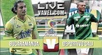 Deportivo Cali vs Bucaramanga en vivo ahora por vuelta cuartos de final (0-0)