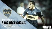De vuelta a las Américas: Carlos Tévez