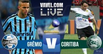 Resultado Grêmio x Coritiba no Brasileirão 2016 (2-0)