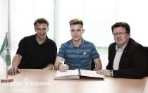 Top-Talent Johannes Eggestein verlängert bis 2019
