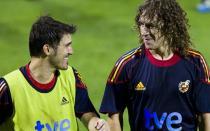 Villa y Puyol no se concentrarán durante la Eurocopa