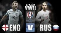 Previa Inglaterra - Rusia: primer envite en la lucha por alcanzar la gloria