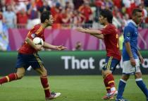 España 1-1 Italia. Puntuaciones de la selección española