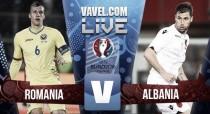 Sadiku's header gives Albania a historic 1-0 win as Romania crash out of Euro 2016