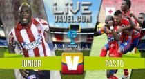 Junior vs Deportivo Pasto en vivo y en directo online en octavos de final Copa Aguila 2016