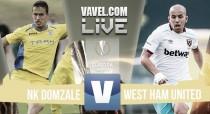 NK Domazle vs West Ham United Live Stream Score Commentary in Europa League 2016