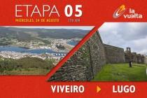 La Vuelta a España en vivo, etapa 5: Viveiro - Lugo 2016