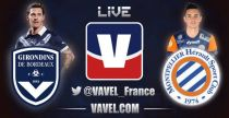 Live Girondins de Bordeaux vs Montpellier, le match en direct