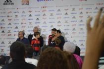 Otimista e com sede de títulos, Diego é apresentado no Flamengo