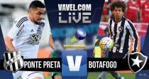 Resultado Ponte Preta x Botafogo no Brasileirão 2016 (2-0)