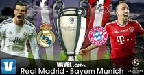 Real Madrid vs Bayern Múnich en vivo online