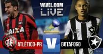 Resultado Atlético-PR x Botafogo Campeonato Brasileiro 2016 (1-0)