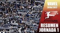Resumen 1ª jornada de la Bundesliga 2016/17