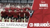 CD Mirandés 2016/2017: hora de fútbol, ambición y convicción