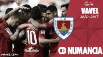 CD Numancia 2016/2017: licencia para soñar