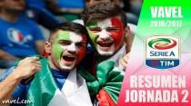Resumen 2ª jornada Serie A: la Juventus sigue apartando aspirantes