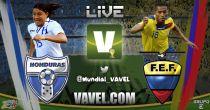 Ecuador vs Honduras en vivo online