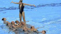 La sincro cierra su participación en Bakú con otra plata