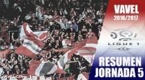 Resumen de la jornada 5 de la Ligue 1