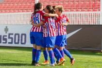El Atleti Femenino se luce ante el Espanyol