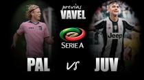 La Juve d'attacco a Palermo per altri tre punti