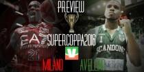 Supercoppa, Avellino e Milano per la prima volta