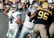 Los Cowboys destrozan a Green Bay