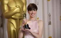 Anne Hathaway no estaba feliz cuando ganó el Oscar