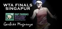 WTA Finals 2016. Garbiñe Muguruza: buscando la corona perdida