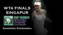 WTA Finals 2016. Agnieszka Radwanska: la reina no quiere ceder su trono