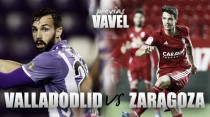 Real Valladolid - Real Zaragoza: encontrar la regularidad