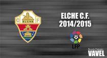 Elche CF 2014/2015: un equipo para resistir en Primera División