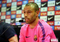 """Mascherano: """"Al Barça le gusta ser el mejor a nivel futbolístico"""""""