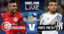 Internacional empata com a Ponte Preta no Campeonato Brasileiro (1-1)