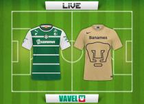 Resultado Partido Santos Laguna vs Pumas en vivo online