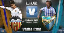 Valencia vs Málaga en vivo y en directo online