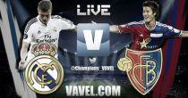 Live Champions League : le match Real Madrid vs FC Bâle en direct