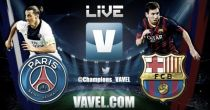 Live Champions League : le match Paris Saint-Germain vs FC Barcelone en direct